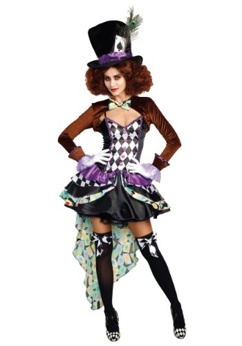 Raving Mad Hatter Women's Costume