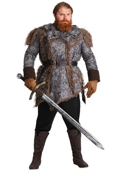 Mens Plus Size Wildling Costume