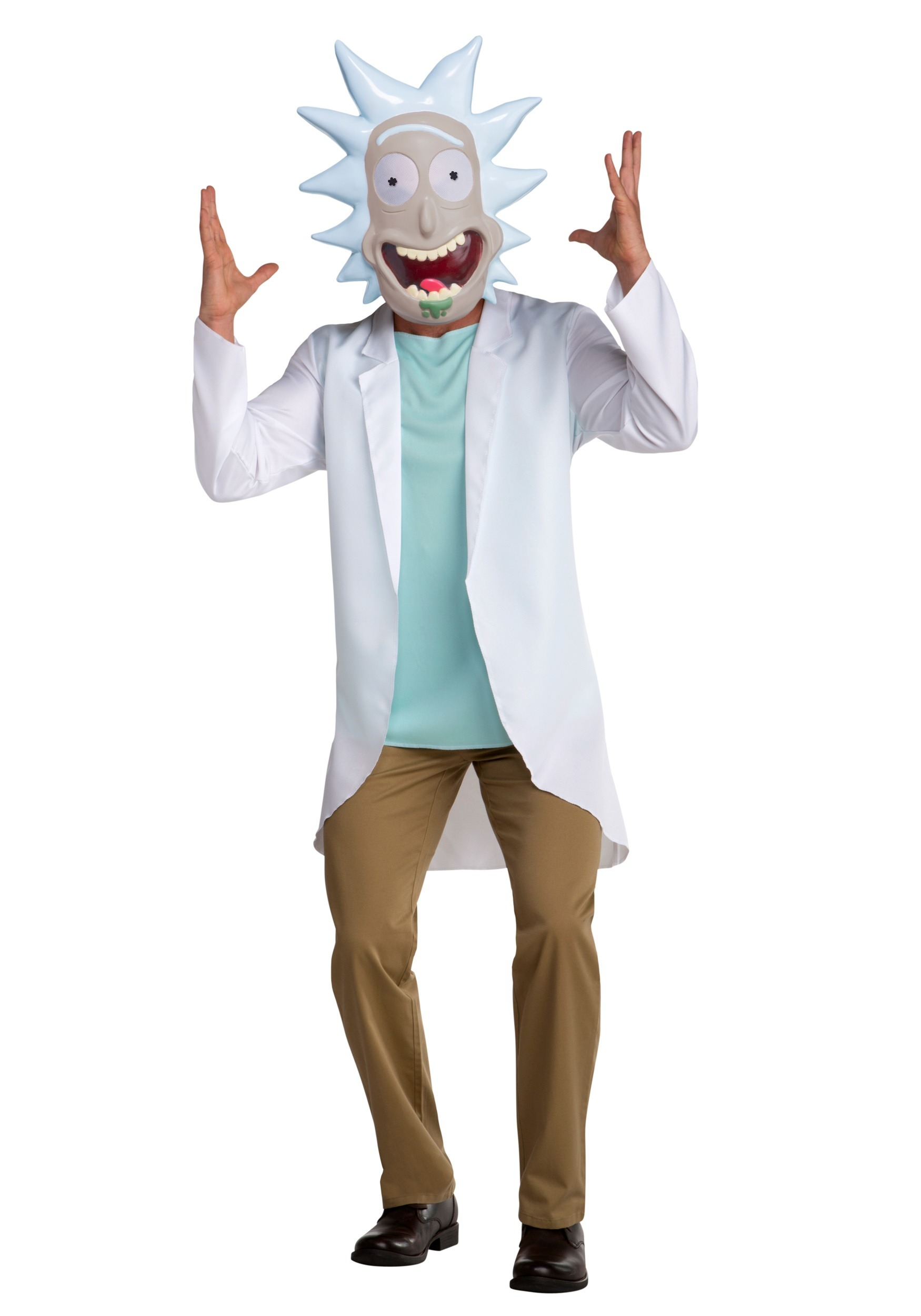 Rick and Morty Rick Adult Fancy Dress Costume