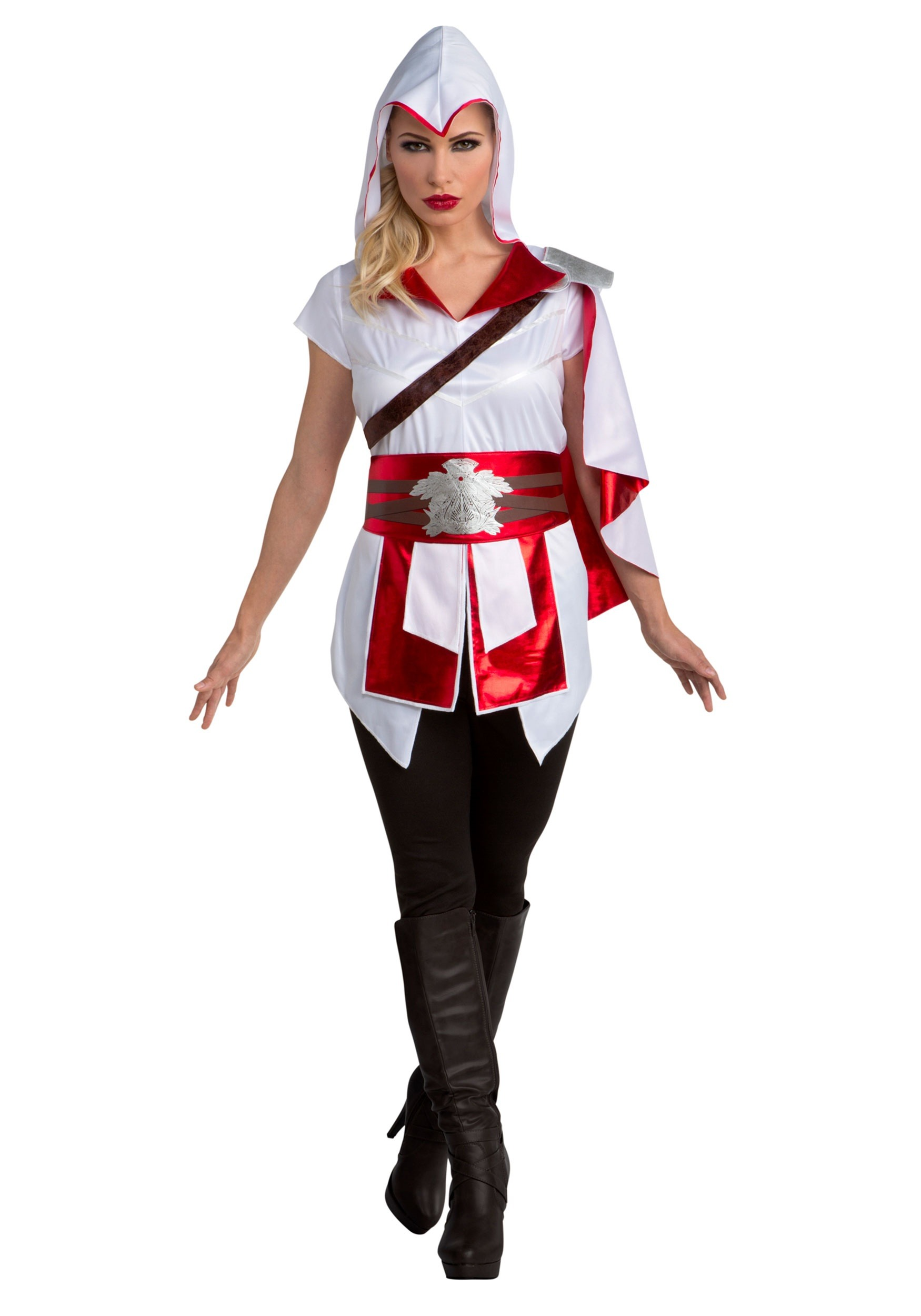 INOpets.com Anything for Pets Parents & Their Pets Assassin's Creed II Ezio Fancy Dress Costume for Women