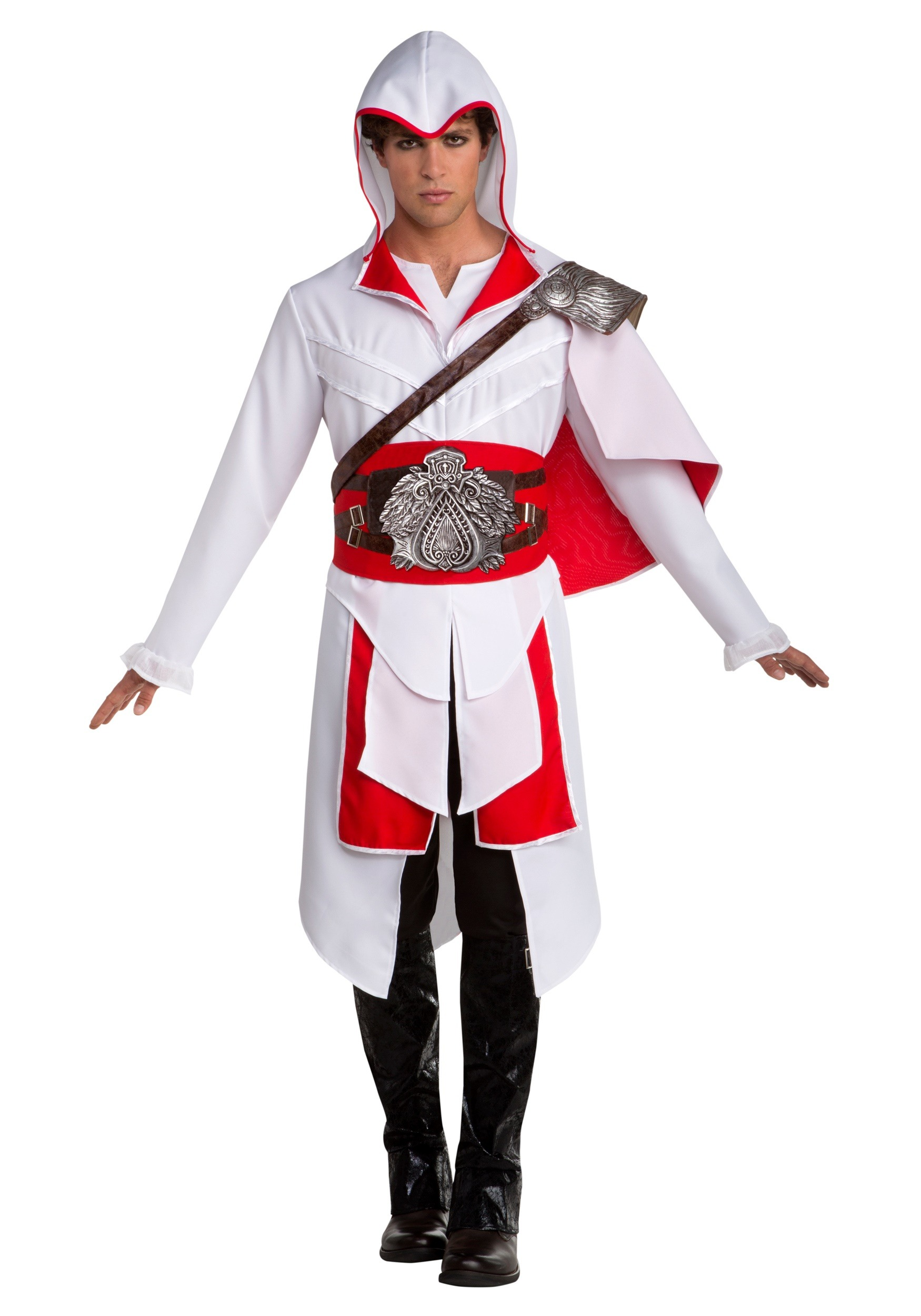 Assassin's Creed II Ezio Fancy Dress Costume for Men