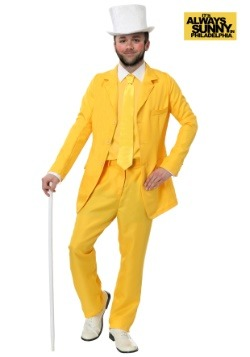 Always Sunny Dayman Yellow Suit Plus Size Costume