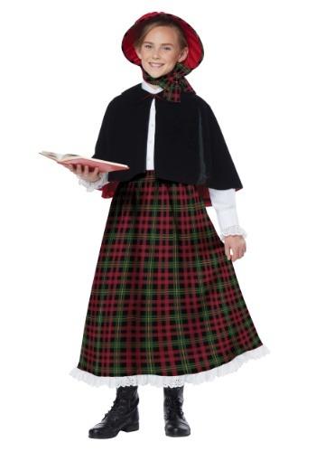 Girls Holiday Caroler Costume
