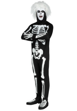 SNL Beat Boy Skeleton Men's Costume
