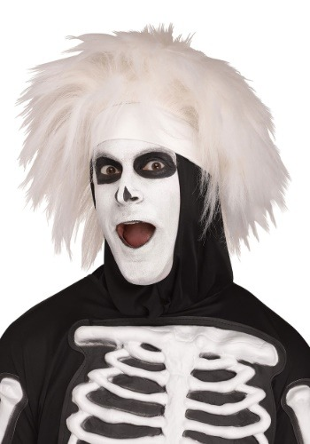 Adult Beat Boy Skeleton Wig