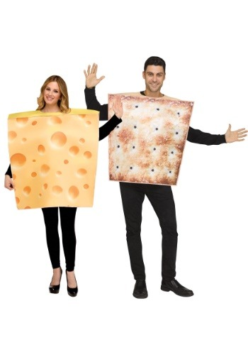 Couples Cheese & Cracker Costume Set