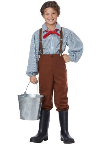 Boy's Pioneer Boy Costume