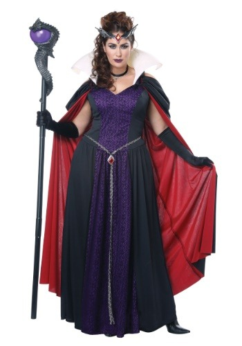 Women's Evil Storybook Queen Plus Size Costume