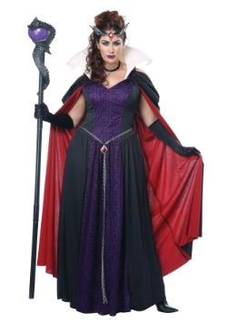 Women's Evil Storybook Queen Plus Size Costume