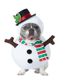Dog Snowman Costume