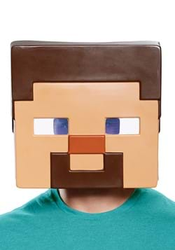 Minecraft Steve Adult Half Mask