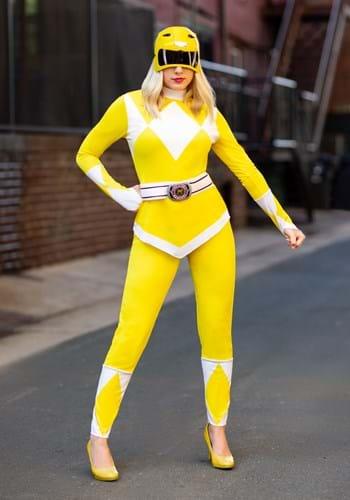 Power Rangers Women's Yellow Ranger Costume