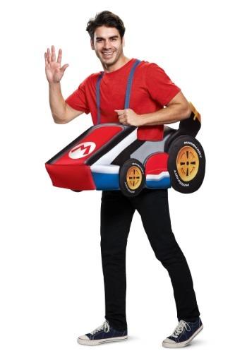 Super Mario Kart Mario Ride In Adult Costume