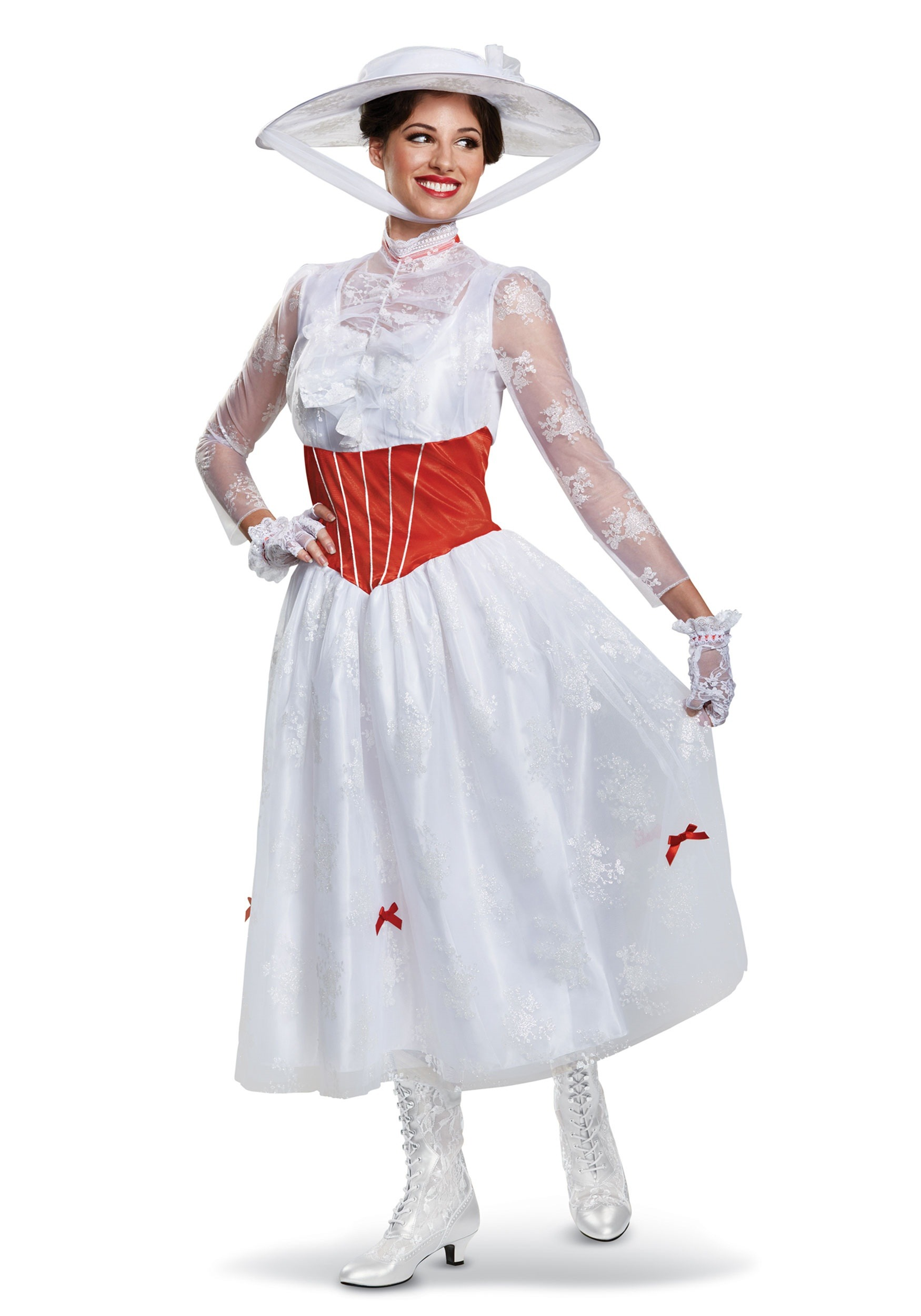 Deluxe Women/'s Mary Poppins Costume