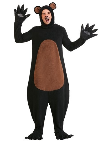 Grizzly Costume Plus Size Grinning