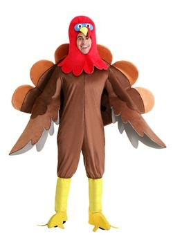 Adults Plus Size Wild Turkey Costume