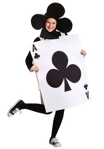 Adult Ace of Clubs Costume