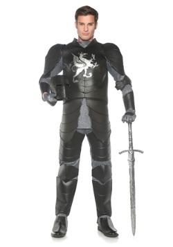 Mens Plus Black Knight Costume
