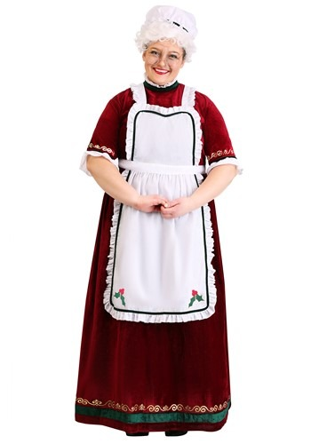 Plus Size Holiday Costume Mrs. Claus
