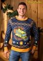 Adult Magic School Bus Ugly Christmas Sweater Alt