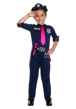 Girl's Barbie Police Officer Costume