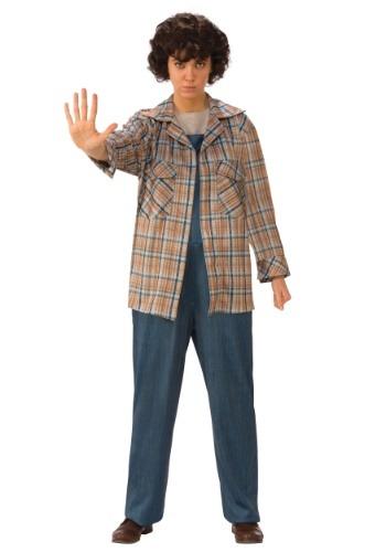 Adult Stranger Things Eleven Plaid Shirt