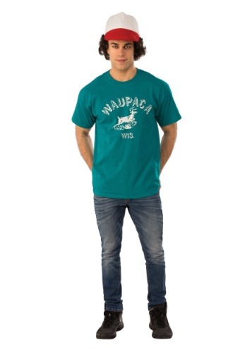 Adult Stranger Things Dustin Waupaca Shirt