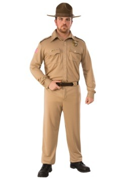 Adult Stranger Things Jim Hopper Costume
