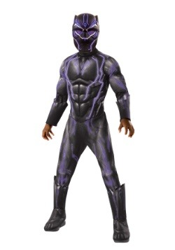 Child's Light Up Black Panther Costume