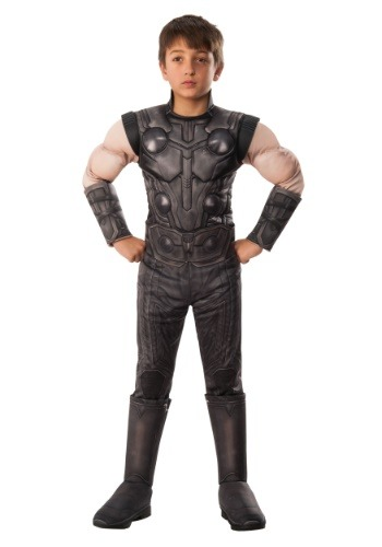 Child's Marvel Infinity War Deluxe Thor Costume
