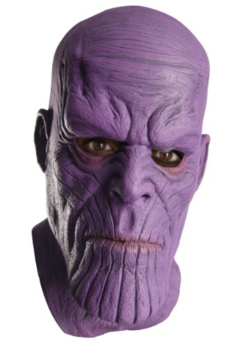 Marvel Avengers Infinity War Thanos Mens Latex Mask
