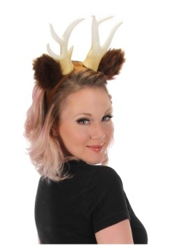 Deer Antlers with Ears Headband