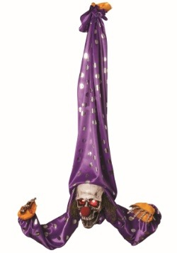 Animated Upside Down Clown Decoration