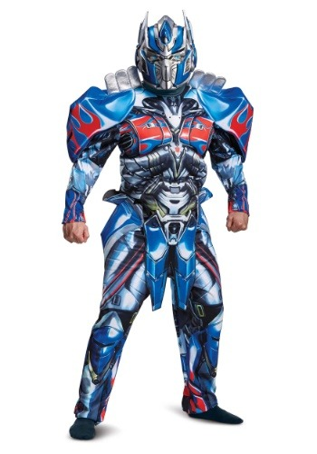 Transformers 5 Deluxe Optimus Prime Costume