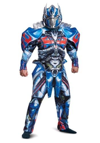 Transformers 5 Deluxe Optimus Prime Costume