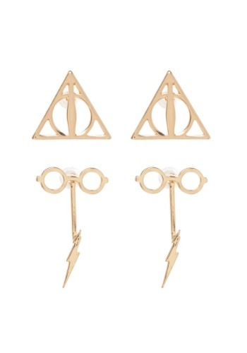 Harry Potter Double Drop Earring Set