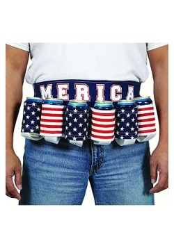 Merica Patriotic Beer Belt