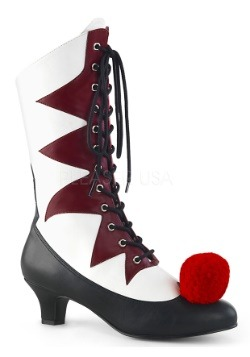 Women's Evil Clown Shoes