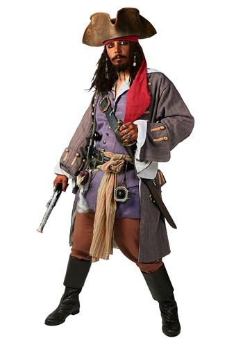 Realistic Caribbean Pirate Costume