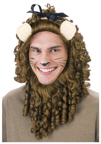 Deluxe Curly Lion Wig