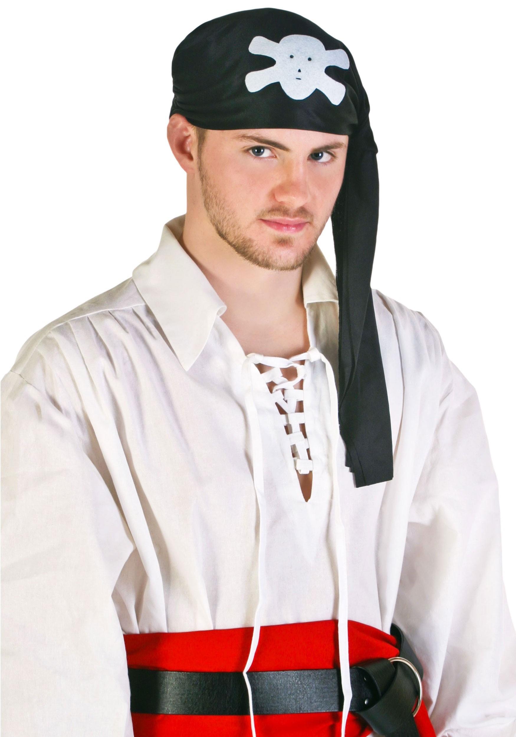 Brand New Tough Pirate Silk Eyepatch Costume Accessory