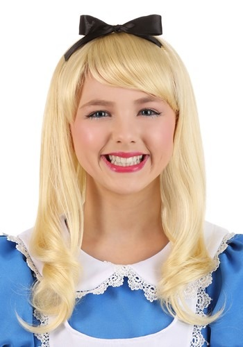 Child Alice Wig