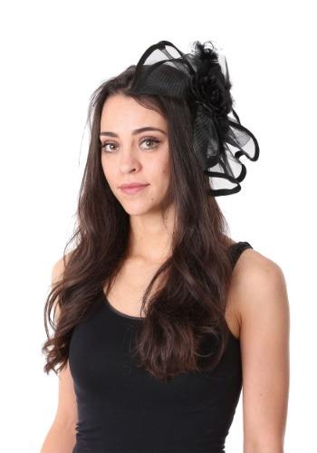 Black Fascinator Headband