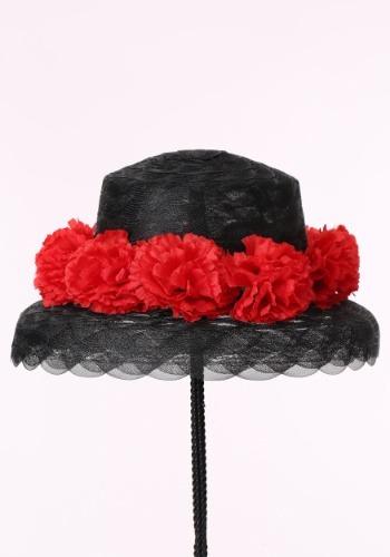 Women's Floral Derby Hat
