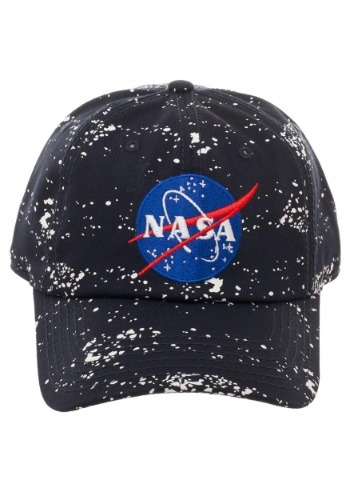 NASA Splatter Dad Hat