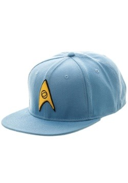 Star Trek Blue Snapback Hat