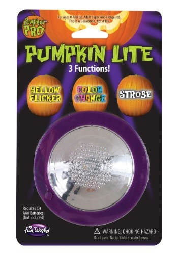 3 Function Pumpkin Light