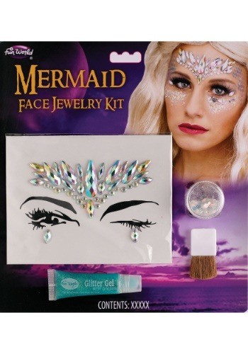 Mermaid Face Jewelry Kit