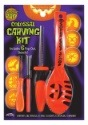 10 Piece Colossal Pumpkin Carving Kit - Orange