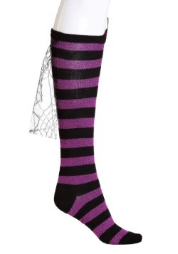 Novelty Witch Knee High Women's Socks Main